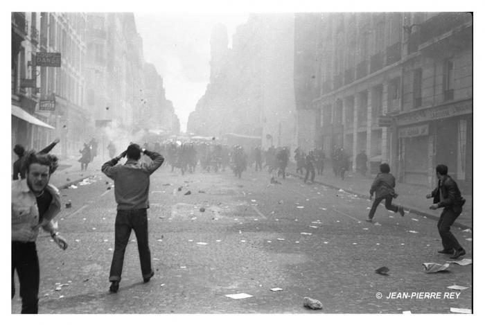 Manifestation du 6 mai 1968