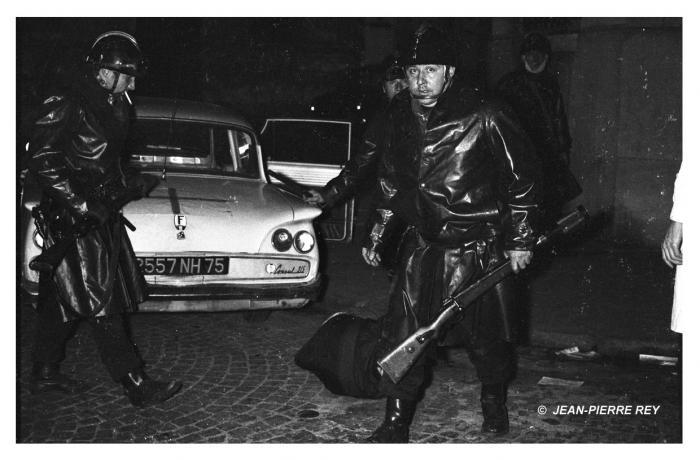 Répression policière le 23 mai 1968