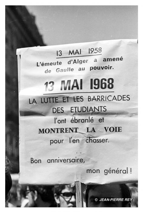 Manifestation du 13 mai 1968