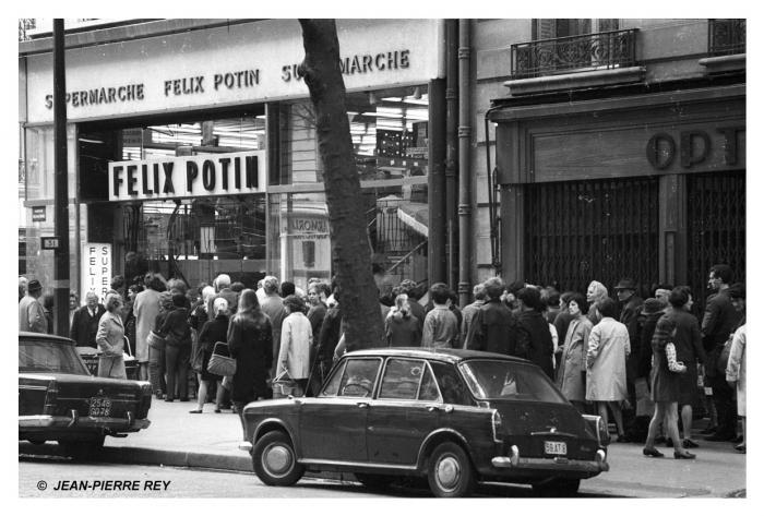 Grève à Paris, mai 1968