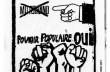 Affiche : Pouvoir populaire