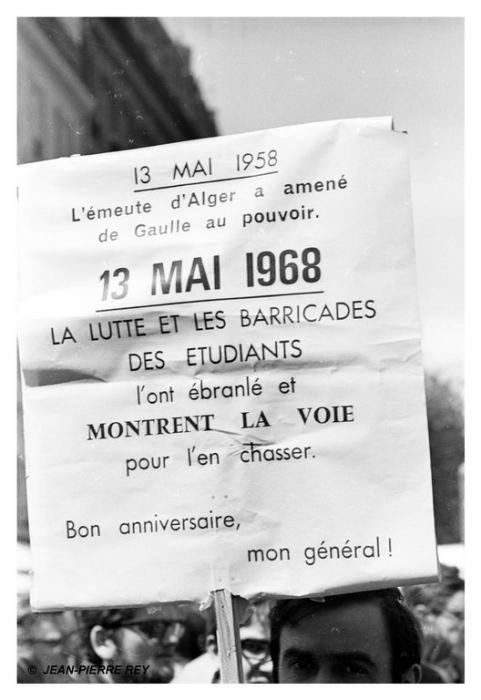 13 mai 1968 - 13 mai 1958 versus 13 mai 1968