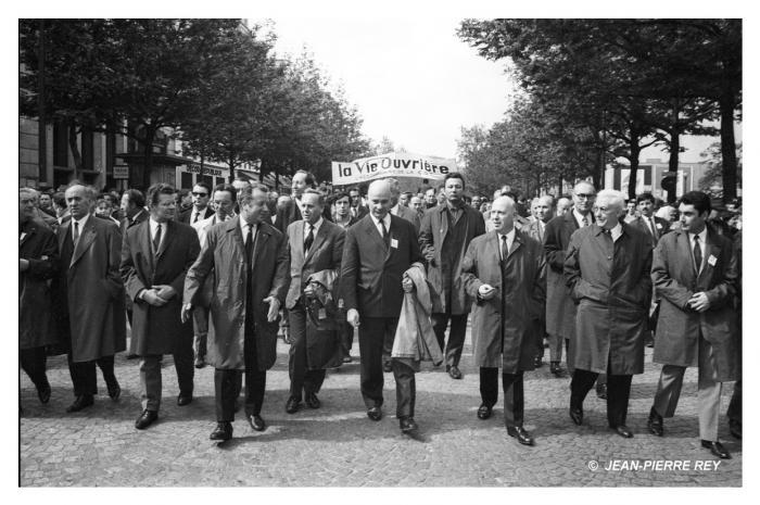1er mai - Georges Seguy, Waldeck Rochet