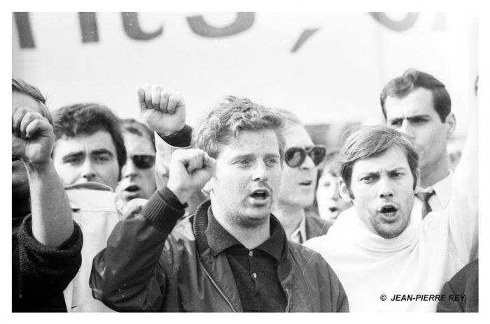 13 mai 1968 - D. Cohn-Bendit, J. Sauvageot