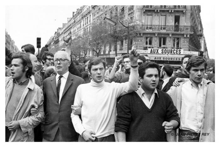 13 mai 1968 - J. Sauvageot, A. Geismar