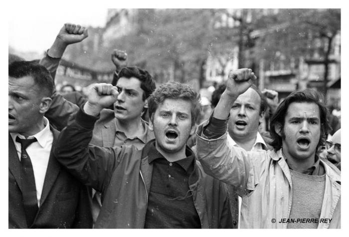 13 mai 1968 - J.-P. Vigier, D. Cohn-Bendit