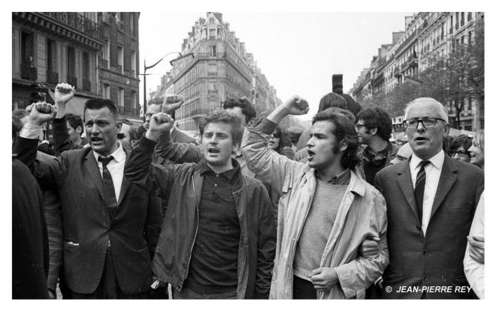 13 mai 1968 - J.-P. Vigier, D. Cohn-Bendit,