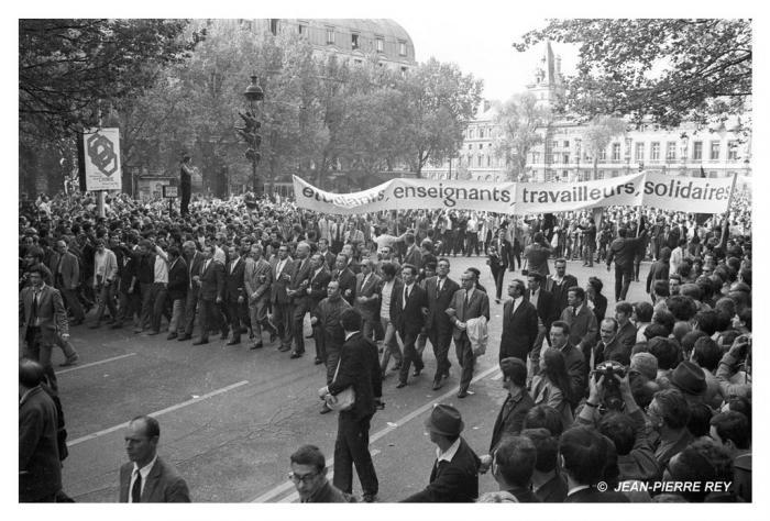 13 mai 1968 - Etudiants, enseignants, travailleurs, solidaires