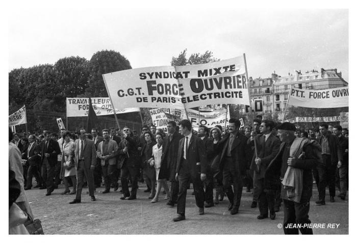 13 mai 1968 - Manifestation unitaire - CGT-FO