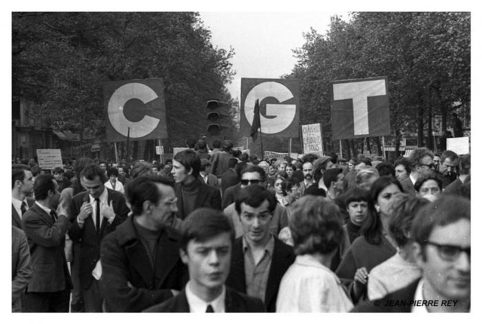 13 mai 1968 - Manifestation unitaire - CGT