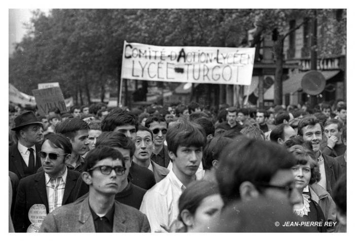 13 mai 1968 - Manifestation unitaire - Comité d'action lycéen