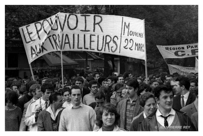 13 mai 1968 - Manifestation unitaire - Mouvement du 22 mars