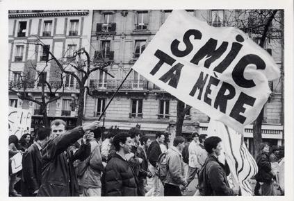 Manifestation contre le CIP en 1994