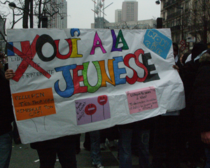 Mobilisation contre le CPE en 2006