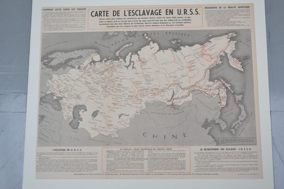 Carte de l'esclavage en URSS