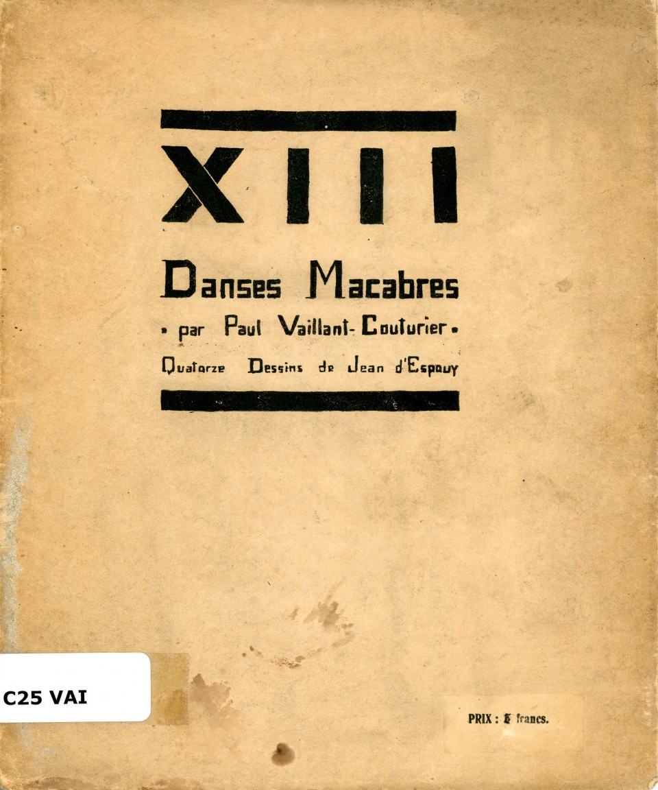 XIII danses macabres