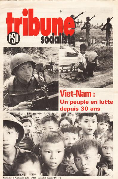 Vietnam. Un peuple en lutte depuis 30 ans. Une de Tribune socialiste du 20 décembre 1972
