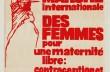 Marche internationale des femmes pour une maternité libre : contraception et avortement libres et gratuits, samedi 20 novembre [1971]. MLF – MLA.