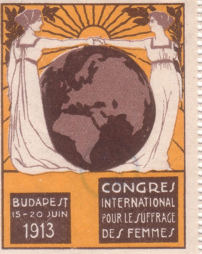 Congrès international pour le suffrage des femmes. Budapest, 15-20 juin 1913.