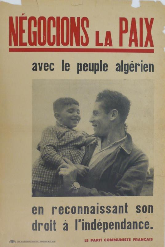 « Négocions la paix avec le peuple algérien »