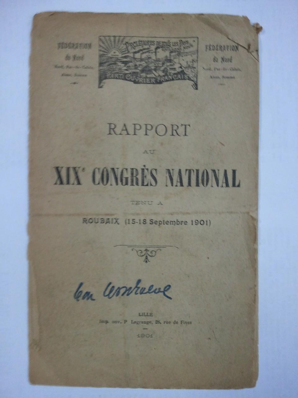19° Congrès du POF à Roubaix