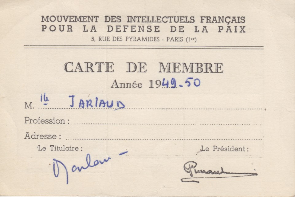 jarlaud-mvtintellectuels franc¦ºais-1949bis