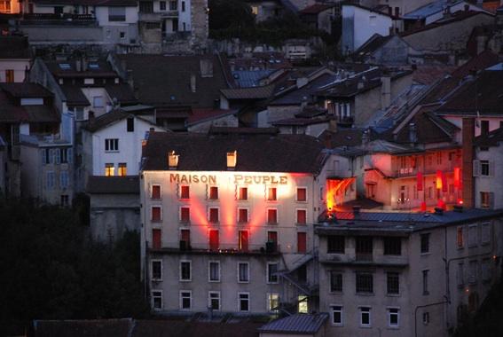 La Maison du Peuple de Saint-Claude.